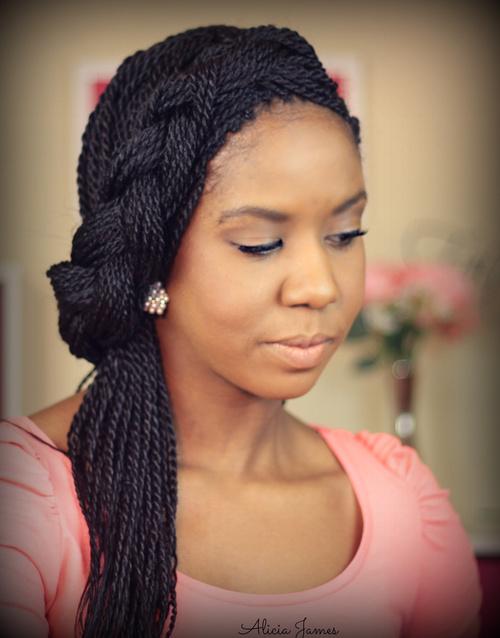Fabulous 10 Unique Black Braided Updos Short Hairstyles For Black Women Fulllsitofus
