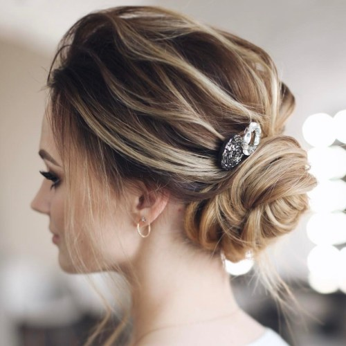 Formal Low Wrapped Bun
