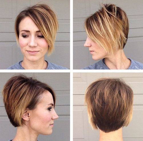 layered pixie bob haircut