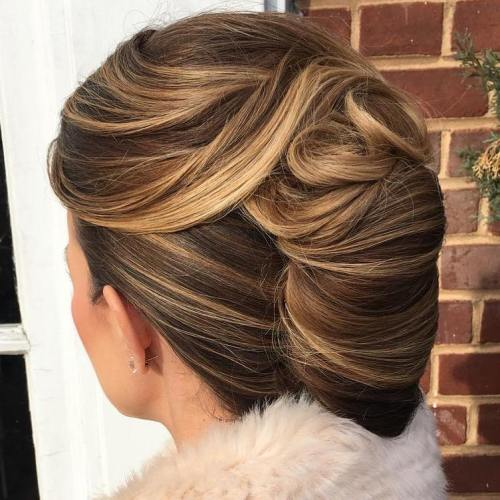 Wedding Hairstyle Upstyle: 50 Stylish French Twist Updos