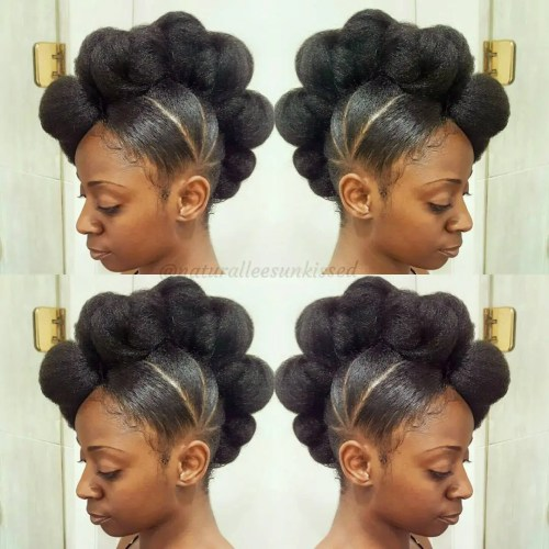 Astonishing 50 Updo Hairstyles For Black Women Ranging From Elegant To Eccentric Hairstyle Inspiration Daily Dogsangcom