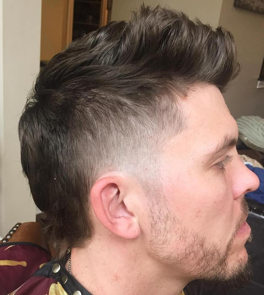 how to add texture mens hair cut