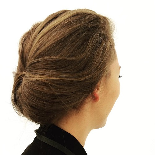 Casual Updo For Work And School