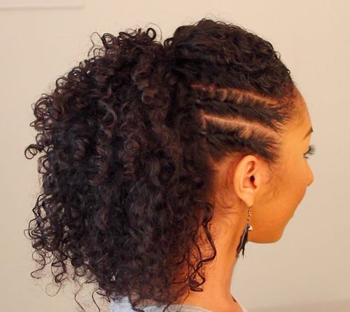 Magnificent 30 Creative Updos For Curly Hair Short Hairstyles For Black Women Fulllsitofus