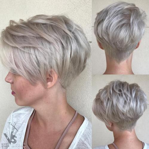 Long Pixie with Choppy Fringe