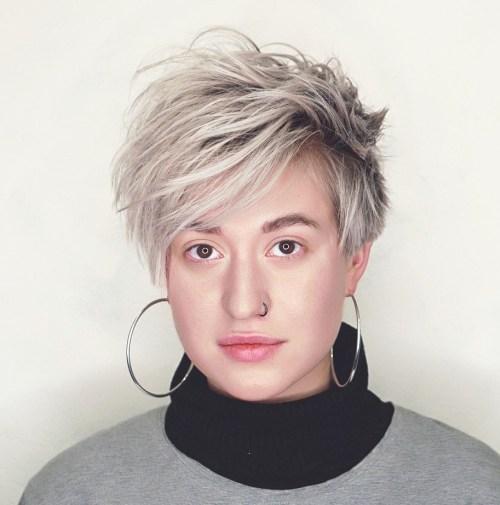 60 Wunderschöne Lange Pixie Frisuren Neue Haarmodelle