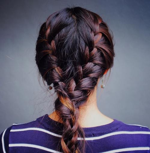 Stupendous 40 Flirty And Fantastic Two French Braid Hairstyles Hairstyles For Men Maxibearus