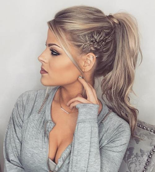 ponytail styles for long hair 40 updos for hair easy and updos for 2017 2035 | 20 formal ponytail hairstyle