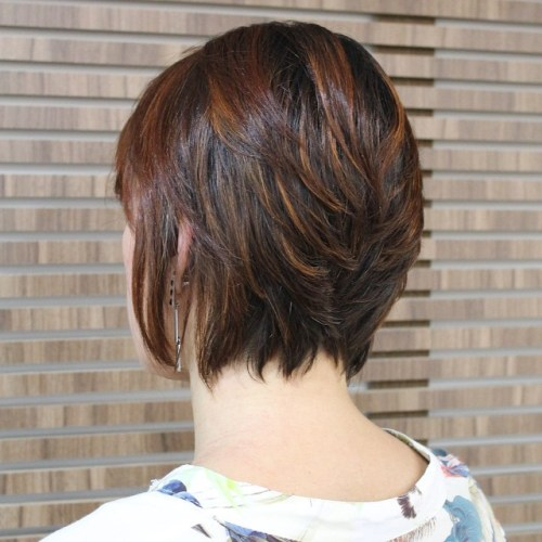 Cool 50 Cute And Easy To Style Short Layered Hairstyles Hairstyles For Men Maxibearus