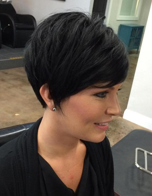 50 cute and easy to style short layered hairstyles layered pixie haircut urmus Choice Image