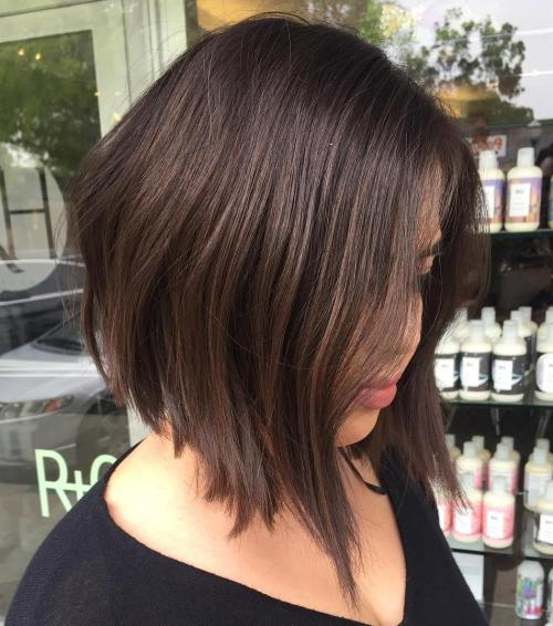 Dark Brown Angled Lob