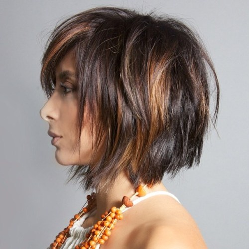 Awesome 50 Messy Bob Hairstyles For Your Trendy Casual Looks Short Hairstyles For Black Women Fulllsitofus