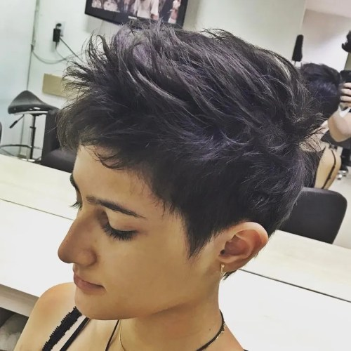 Spiky Pixie Haircut