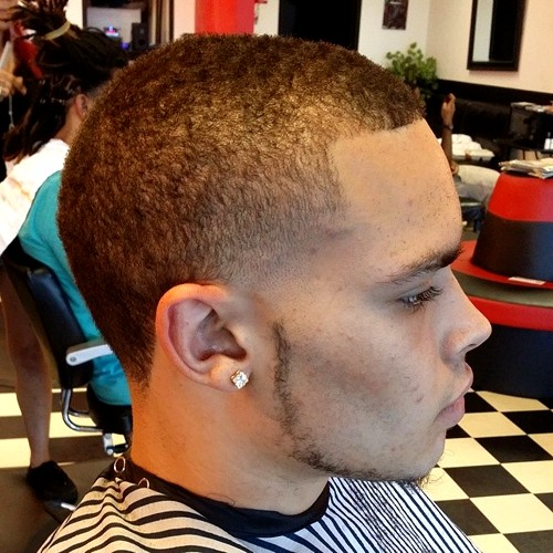 Temple Fade For Natural Hair