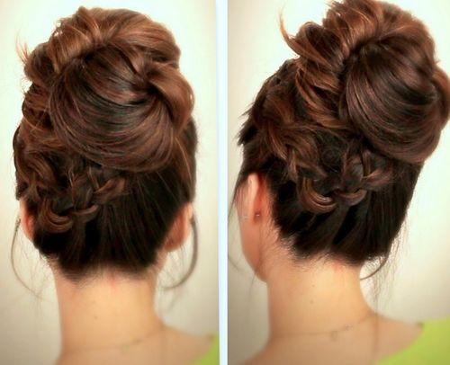 Tremendous 30 Chic Messy Updos For Long Hair Short Hairstyles For Black Women Fulllsitofus