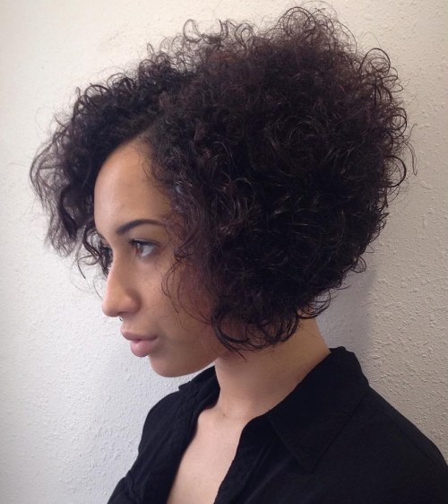 Layered Bob For Natural Hair