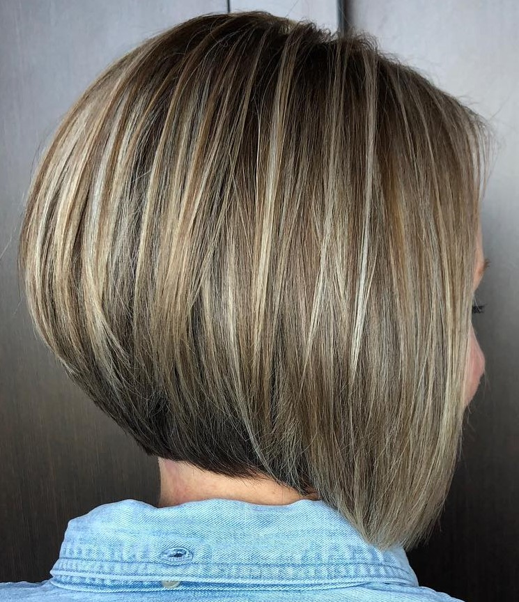 Wonderful Straight Angled Bob Haircut