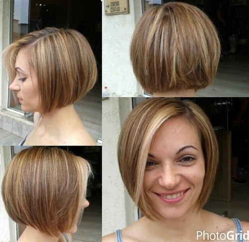 Rounded Bob Hairstyles