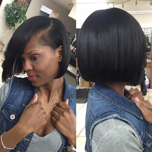 Terrific 40 Spectacular Blunt Bob Hairstyles Short Hairstyles For Black Women Fulllsitofus