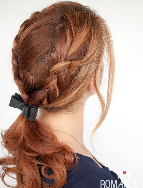 40 Cute Ponytails With Braids