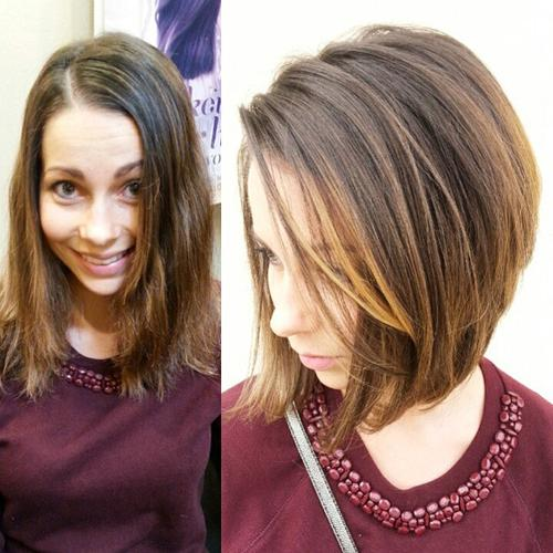 Incredible 38 Beautiful And Convenient Medium Bob Hairstyles Hairstyle Inspiration Daily Dogsangcom