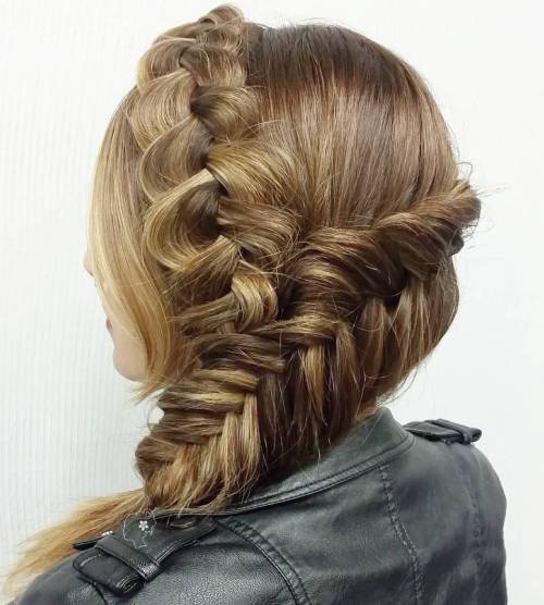 Two Braids Hairstyle