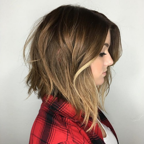 60 Inspiring Long Bob Hairstyles and Lob Haircuts 2018