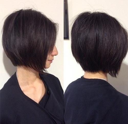 chin-length textured bob