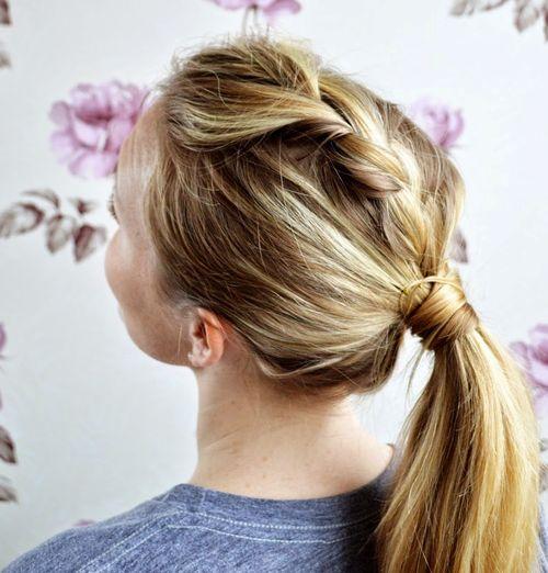 Cool Braided Ponytail Hairstyles 40 Cute Ponytails With Braids Short Hairstyles Gunalazisus