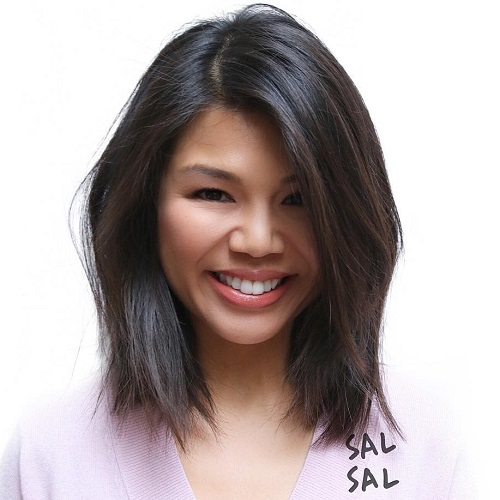 Groovy 50 Inspiring Long Bob Hairstyles And Haircuts Hairstyle Inspiration Daily Dogsangcom