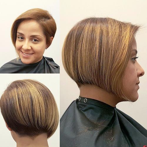 Fantastic 20 Beautiful And Classy Graduated Bob Haircuts Short Hairstyles For Black Women Fulllsitofus