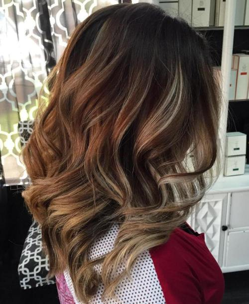Cute highlights brown hair cute hairstyle 90 balayage hair color ideas with blonde brown and caramel highlights pmusecretfo Choice Image