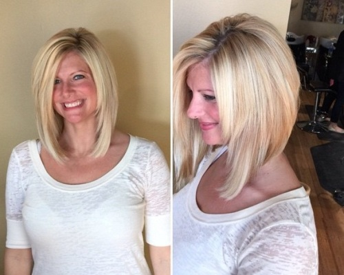 Awesome 40 Trendy Inverted Bob Haircuts Short Hairstyles For Black Women Fulllsitofus
