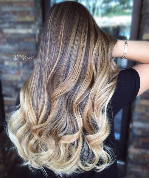 90 balayage hair color ideas and main types of balayage highlights. Black Bedroom Furniture Sets. Home Design Ideas
