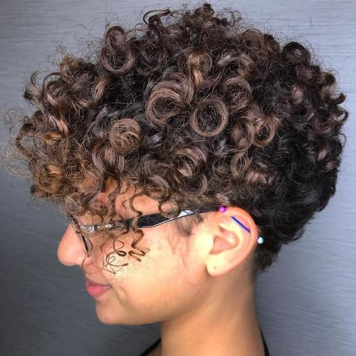 Short Tapered Cut For Natural Hair