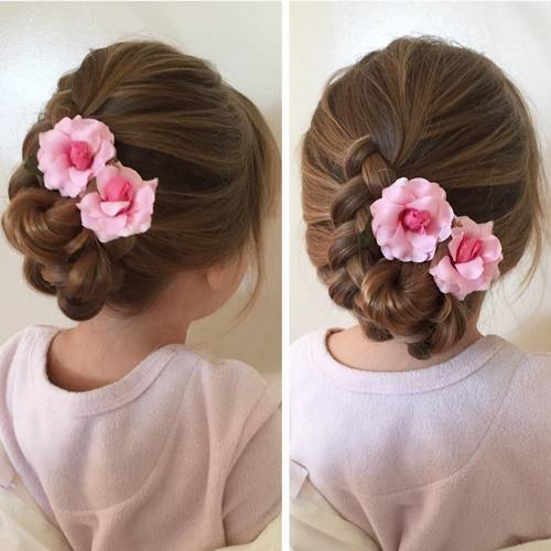 Brilliant 20 Flawless Flower Girl Hairstyles Short Hairstyles For Black Women Fulllsitofus