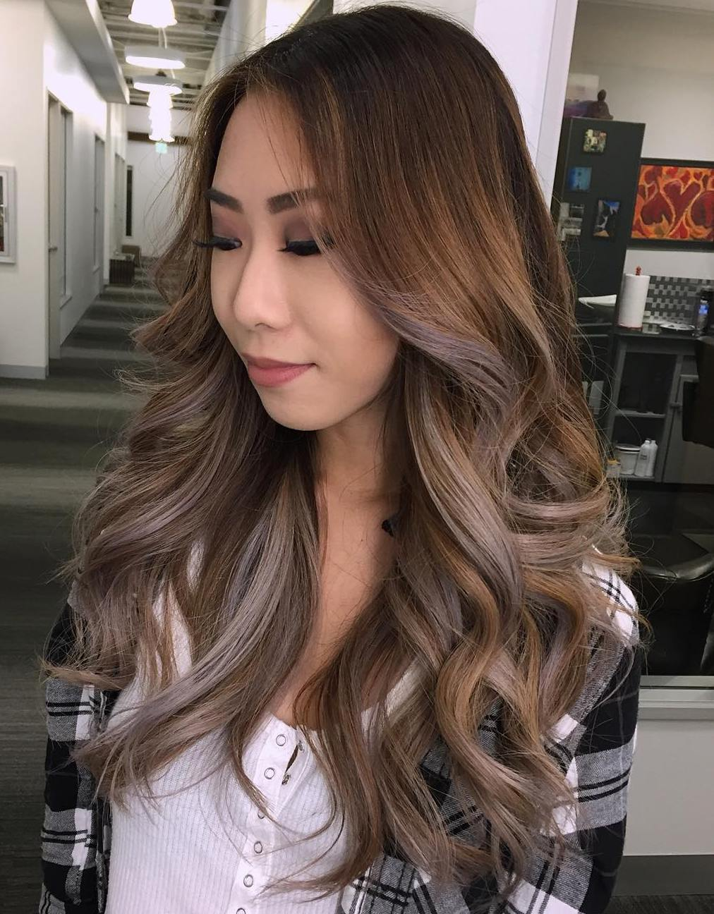 Gray Highlights For Brown Hair