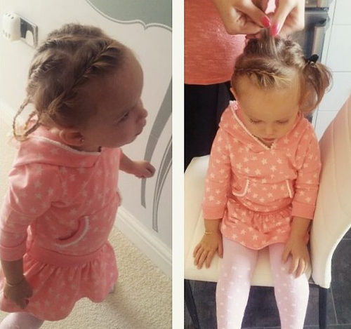 toddlers braided hairstyle