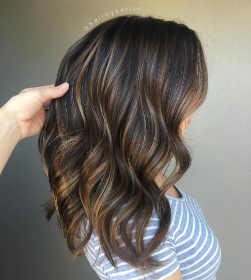 90 balayage hair color ideas with blonde brown and caramel highlights thin caramel highlights for brunettes pmusecretfo Gallery