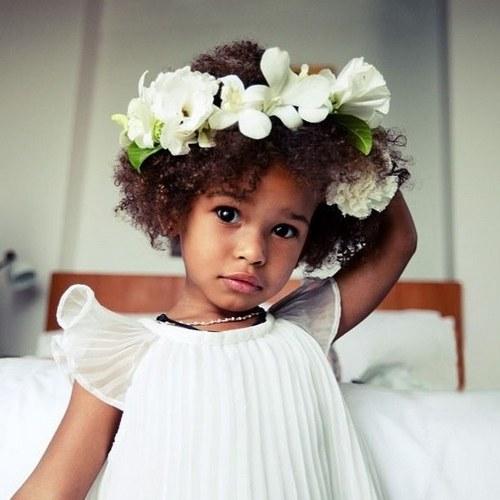 Flower Girl Updos