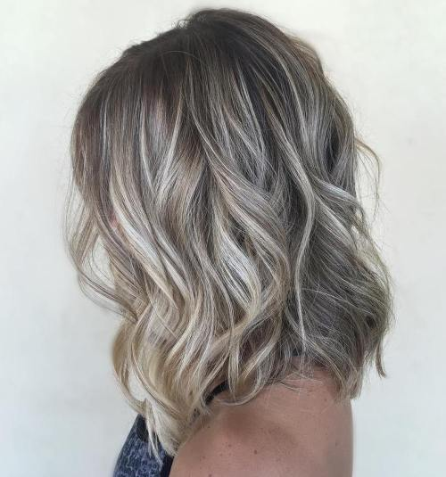 90 balayage hair color ideas with blonde brown and caramel highlights ash brown bob with platinum highlights pmusecretfo Gallery