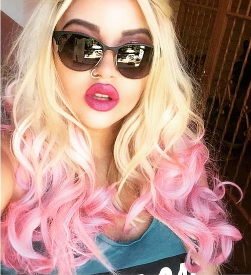 pink hair dye styles 20 pink ombre hairstyles 9576