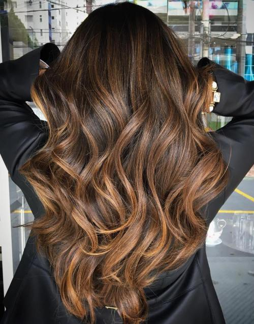 90 balayage hair color ideas with blonde brown and caramel highlights pmusecretfo Choice Image