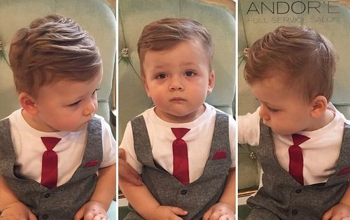 baby boy hair style 20 сute baby boy haircuts 8958