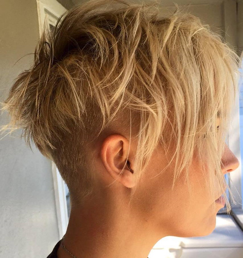 Enjoyable 70 Pixie Cut Ideas For 2017 Short Shaggy Spiky Edgy Pixie Haircuts Hairstyles For Men Maxibearus