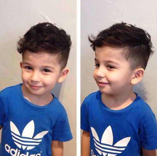 20 ute baby boy haircuts short sides long top haircut for little boys urmus Choice Image