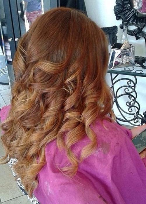 20 Cute Fall Hair Colors And Highlights Ideas