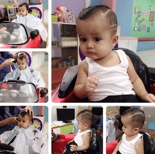 cute hairstyle for baby boys