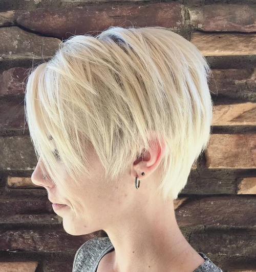 Image result for Disconnected Pixie for Short Hair