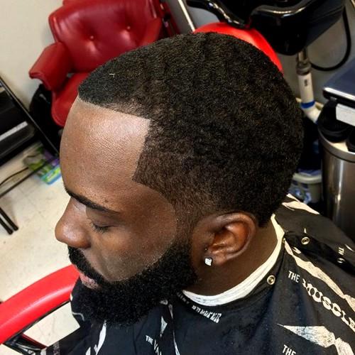 short haircut for African American men